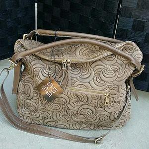 Handbags - FANGO SWIRL LEATHER  HOBO
