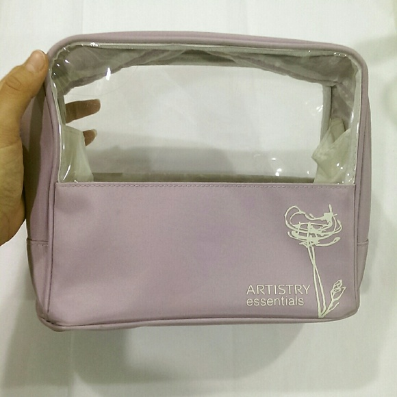 lilac cosmetic bag travel toiletry bag