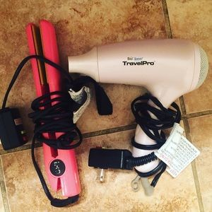 50 Off Chi Other Mini Travel Chi Air Blow Dryer From