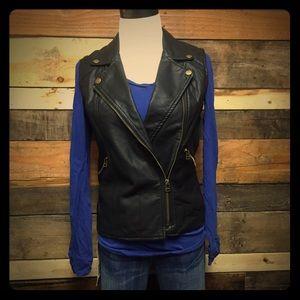 Sanctuary vegan leather vest