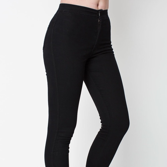 23% off American Apparel Denim - American Apparel Black Easy Jeans ...