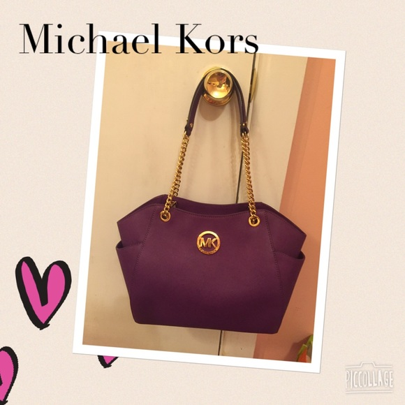 8485b987fded 🆕Jet Set Travel LG Chain Tote Michael Kors ⭐️