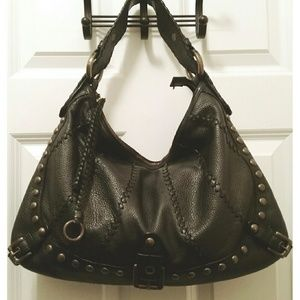 12760ab977a Isabella Fiore Bags - Isabella Fiore Whip Flashback  Audra  Hobo Handbag