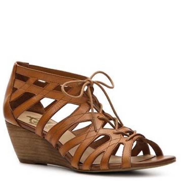 ad22eb866e9 Crown Vintage Shoes - Crown Vintage Gladiator Wedge Sandal