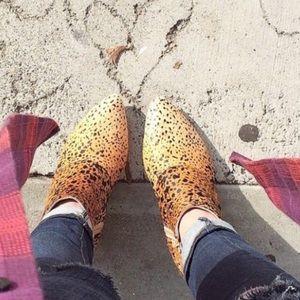 LF Shoes - LF matisse nugget ponyhair booties