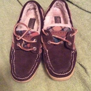 Sperry Top-Sider Shoes - Chocolate brown leather upper Sperry Top-Sider