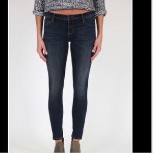 Black Orchid Denim - Black Orchid Amber Zipper Skinny Jeans Size25