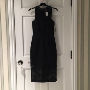 Nicholas New w Tags Black Mesh Dress Size2