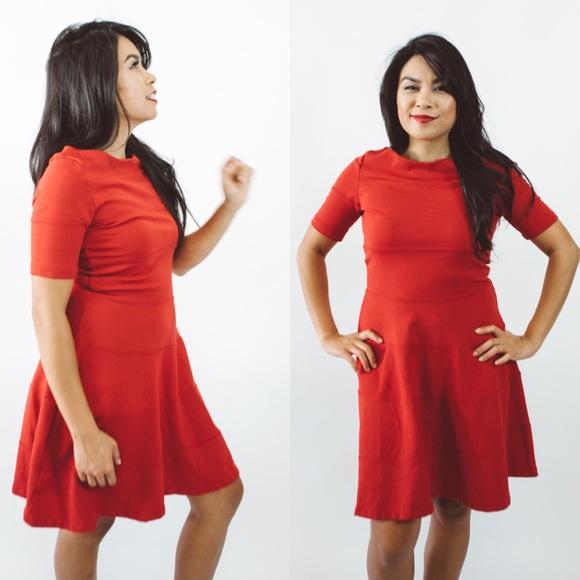 Zara - ZARA Red Dress SALE from Kathyren's closet on Poshmark