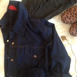 || vintage denim jacket ||