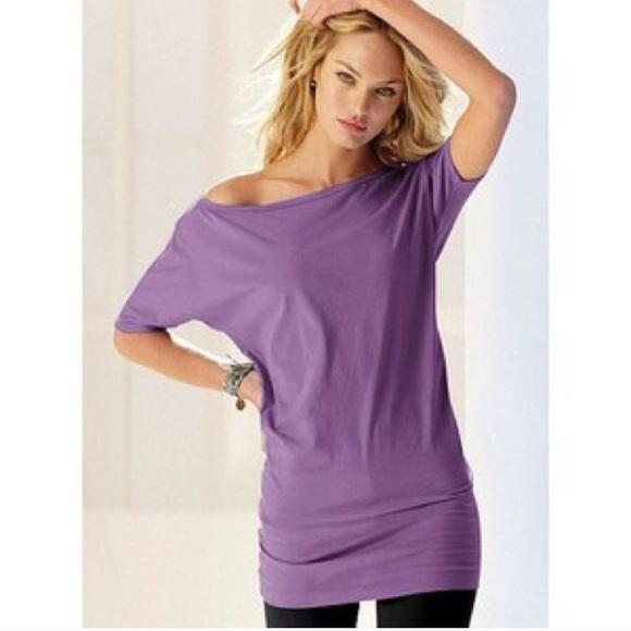 50fd4bf0c49 Victoria's Secret Tops   Purple And Teal Victoria Secret Tunic ...