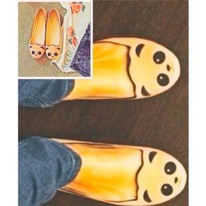 Shoes - ⚡️FLASH SALE⚡️2X HP 💕🐼Panda Love🐼💕 Flats Nude!