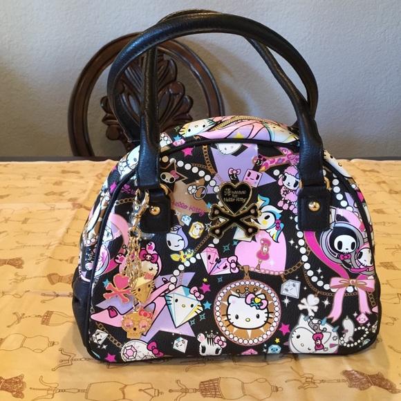 70950e7e53cc NWOT tokidoki hello kitty jewelry bowler. M 565b3a55f0137de87502a0f4. Other  Bags ...