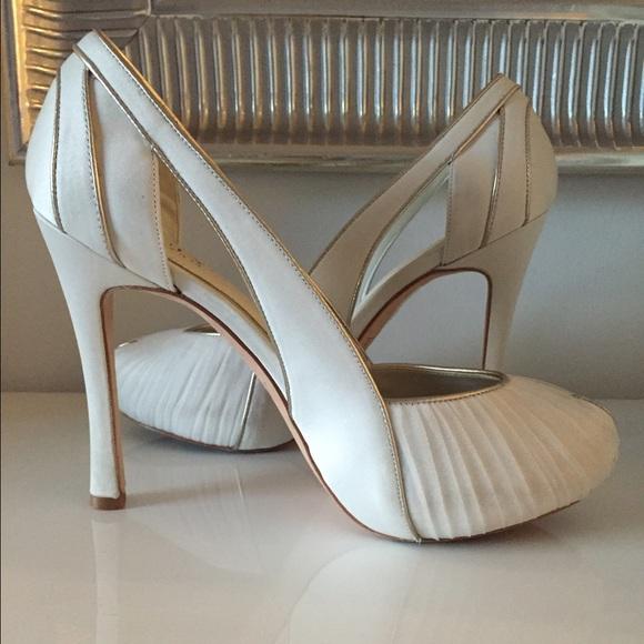 363c03f97 Wedding shoes.Truly Zac Posen for Davids Bridal. M 565b3c43f0137dba0e02a294