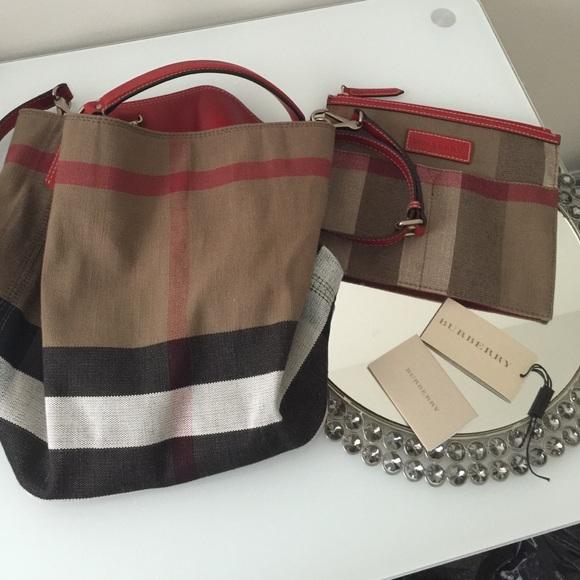 Burberry Handbags Hobo