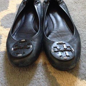 Tory Burch Shoes - Navy blue tory burch flats