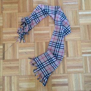 Accessories - Plaid long warm fleece scarf 4.5f