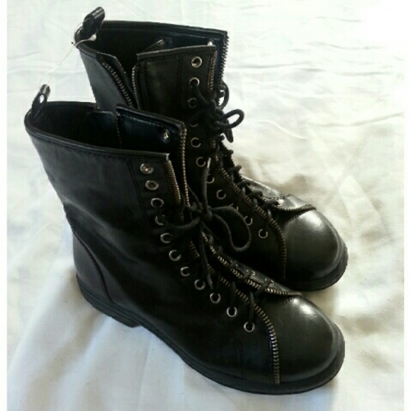 BCBGeneration - 🌍 BCBGeneration Genuine Leather Combat Boots from ...