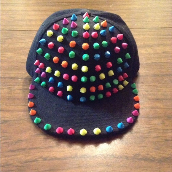 Love Culture Accessories - Spiked SnapBack Hat aaa2a8ab620