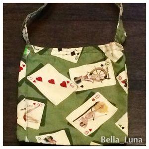 Handbags - 👀👯 Vintage Retro Pin-up Girl Poker Purse Bag 💥