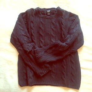 GAP 100% cotton cable knit sweater