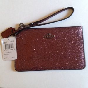 COACH SMALL WRISTLET IN GLITTER