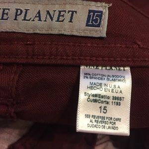 Nine Planet Jeans - Bordeaux Skinny Jeans