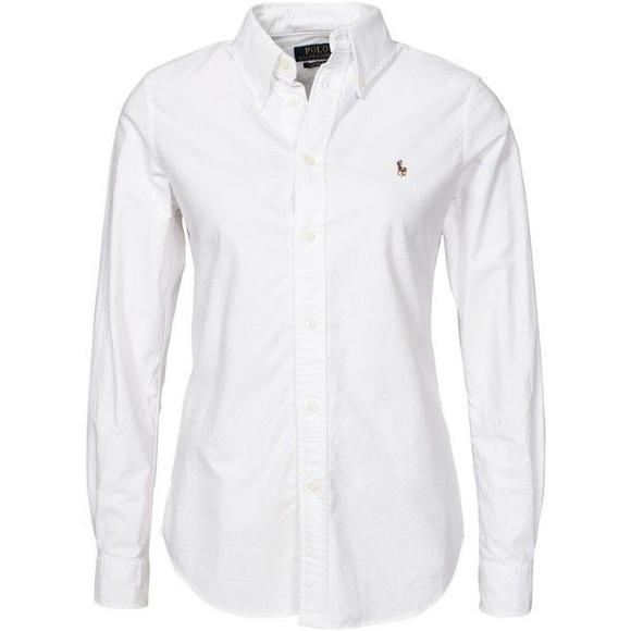 Women\u0027s button down polo shirt size 4 classic