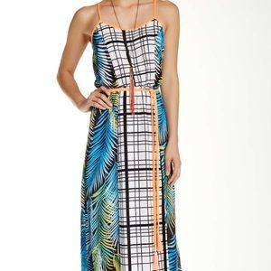 Dresses & Skirts - Mixed print maxi Nwot