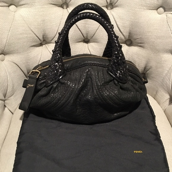 3da1522bfe77 FENDI Handbags - Fendi Nappa Leather Mini Spy Bag