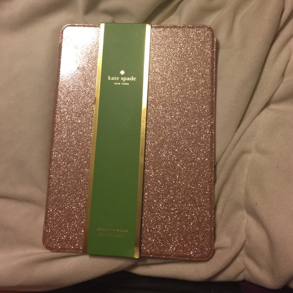 differently 03126 2c07a Rose gold Kate spade iPad Air 2 case