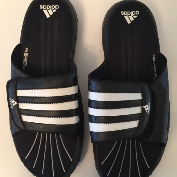 78ef712593580 Adidas Other - Men s Adidas slip on flip flops