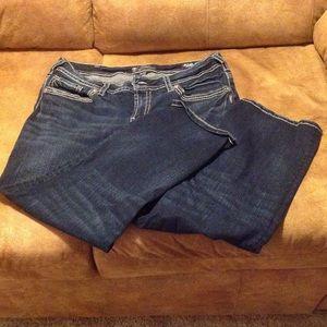 57% off Silver Jeans Denim - Silver Suki mid Capri jeans. Size 14 ...