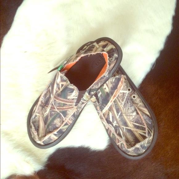 e0ace31750b6c Sanuk Shoes | Nwt Mens Mossy Oak Vagabond Blades | Poshmark