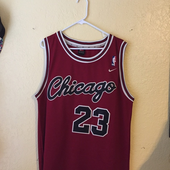 timeless design 20956 5923b Authentic Nike Michael Jordan Jersey