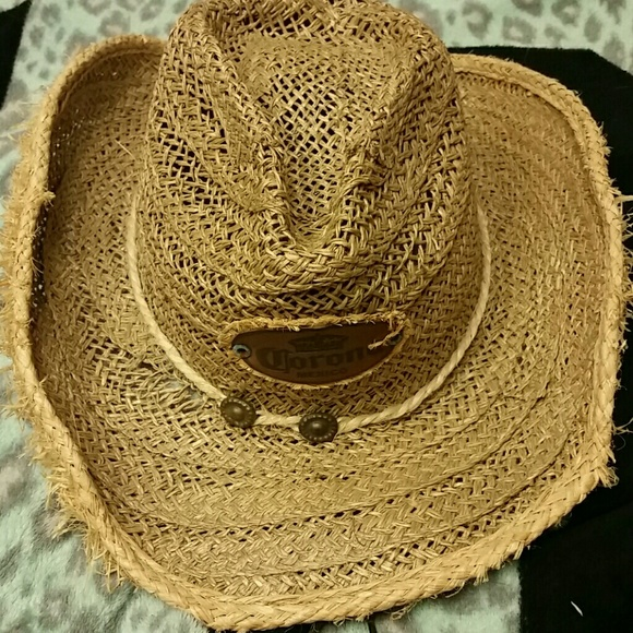1a418cd4a7439 Accessories - Corona Mexico cowboy straw hat.