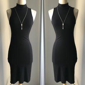Pickaboo back knit dress