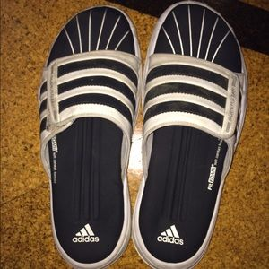 Adidas Other - Mens size 9 white Adidas sandals