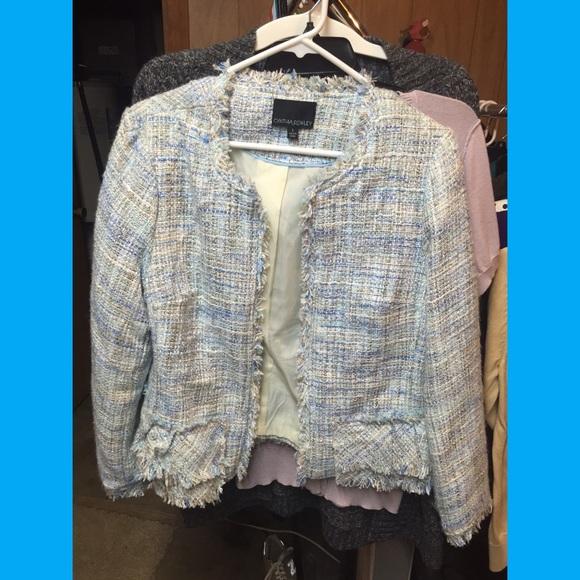 Cynthia Rowley tweed jacket