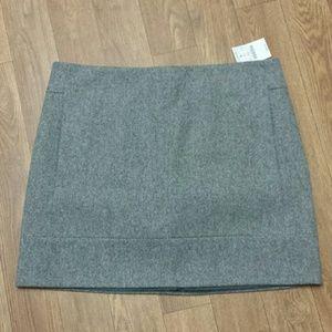 NWT J.Crew wool skirt