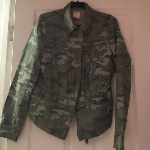 7a3b122632478 GAP Jackets & Coats | Camo Jacket | Poshmark