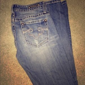 81% off Express Denim - Re rock express skinny jeans from ...