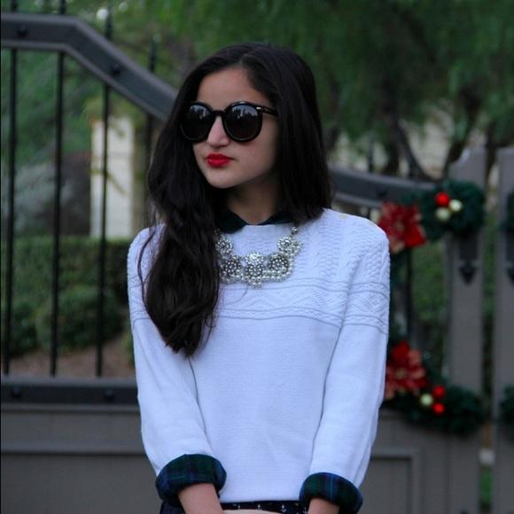 Ralph Lauren Sweaters - {Ralph Lauren} 🌿 White Cable Sweater