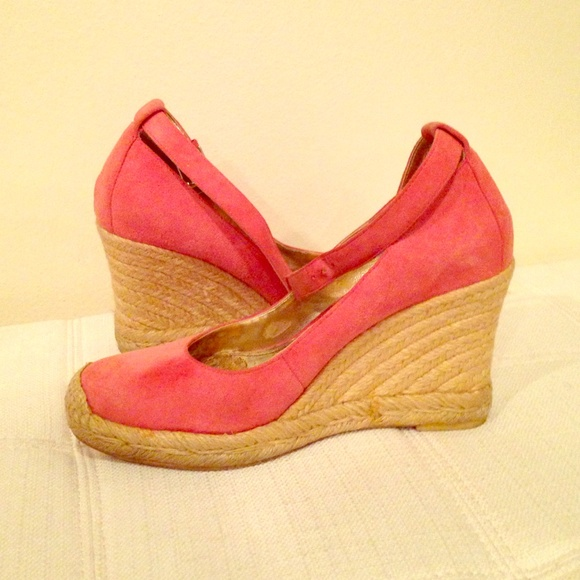 6728e142b1cf Franco Sarto Shoes - Coral espadrilles wedges with ankle strap