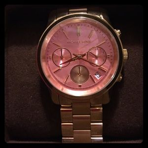 NWT and in box Authentic Michael Kors watch