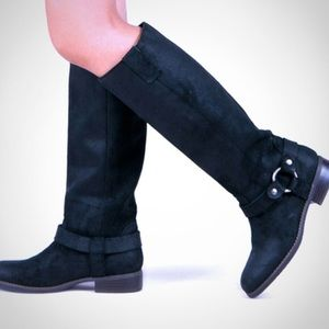 Dolce Vita Suede Leather Boots Size: 6
