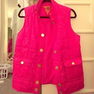 Tory Burch pink vest