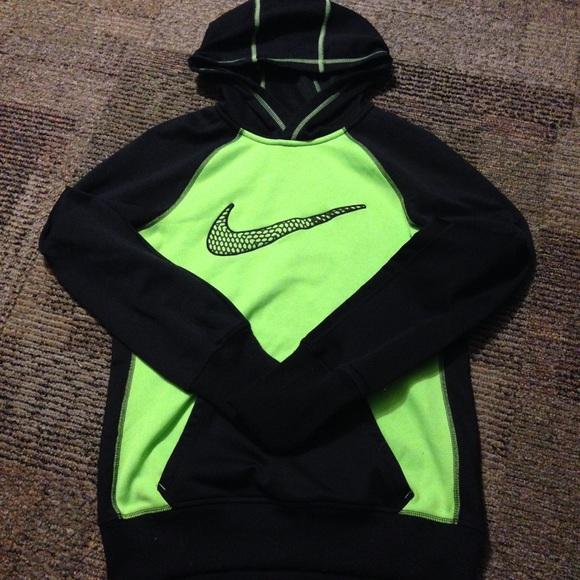 nike jumper womens green