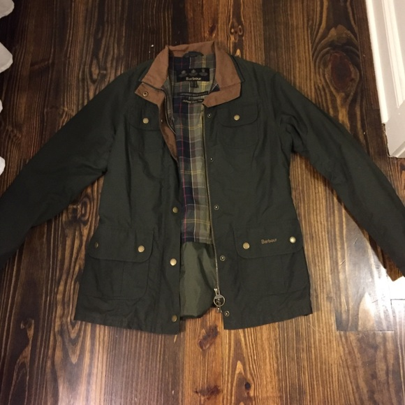 Womens barbour jacket size 12