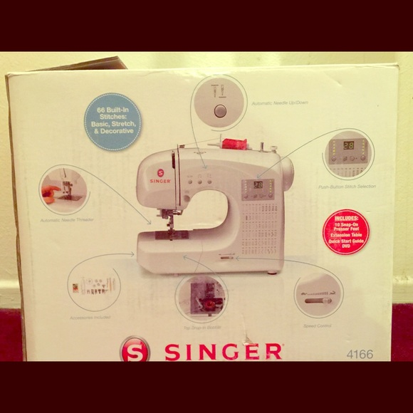 Singer Other Electronic Sewing Machine Poshmark Awesome Singer Electronic Sewing Machine